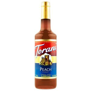 Sirô Torani đào Peach – chai 750ml