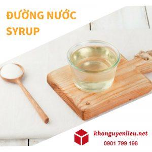 Đường nước Daesang có dạng Syrup dễ hòa tan, thuận tiện trong sử dụng