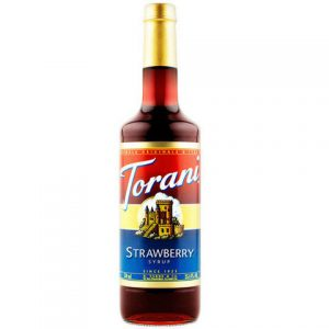 Sirô Dâu tây Torani Strawberry – chai 750ml