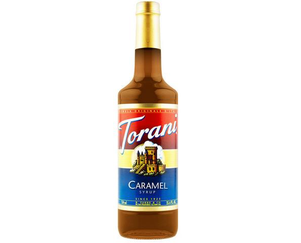 Sirô Torani Caramel – chai 750ml